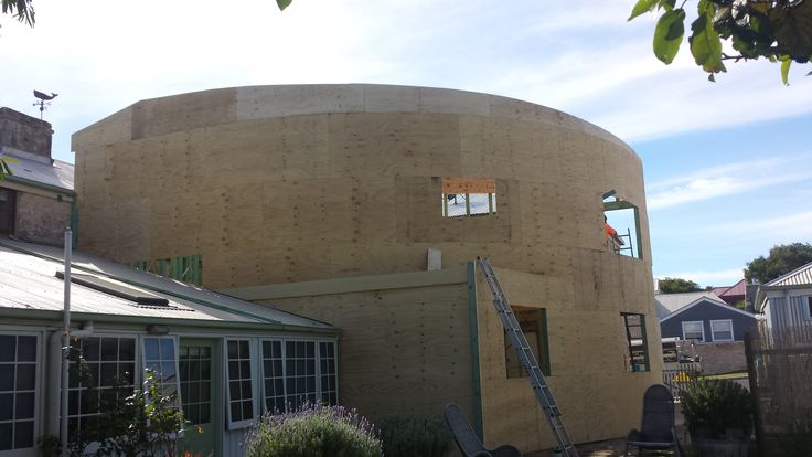 2 Story extension I'm building for architect Tim Rogers in Robe South Australia