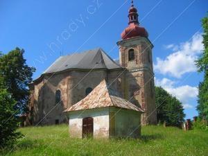 kostel všech svatých/ heřmánkovice KID