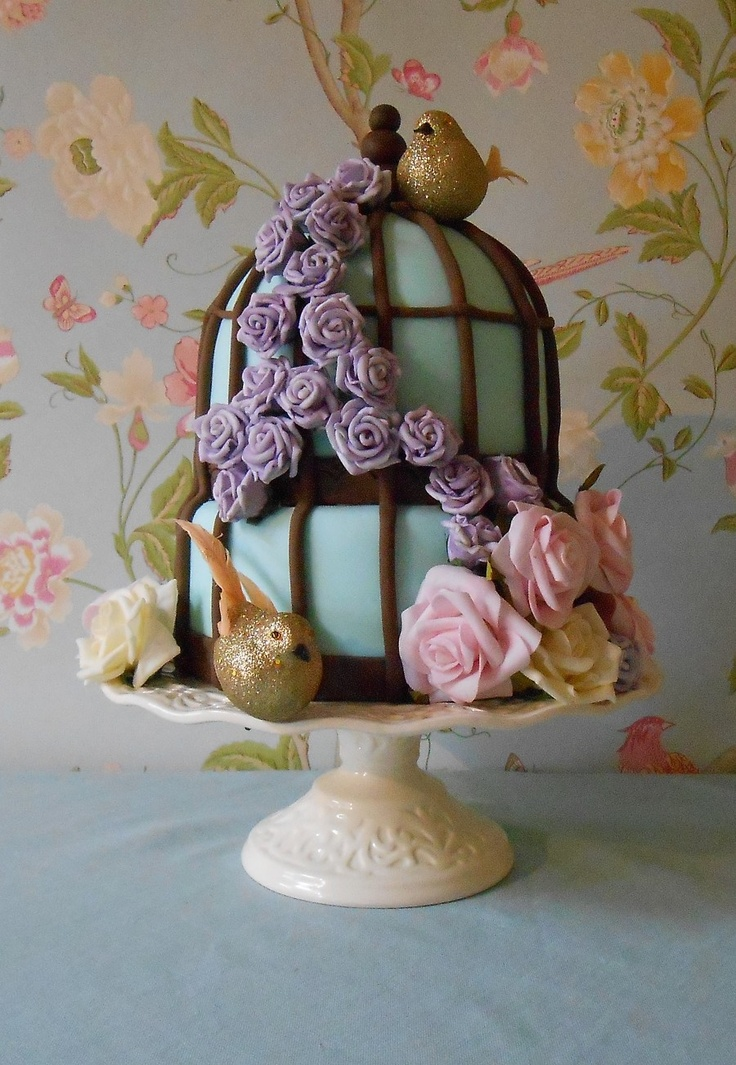 Birdcage Cake - The Little Velvet Cake Company