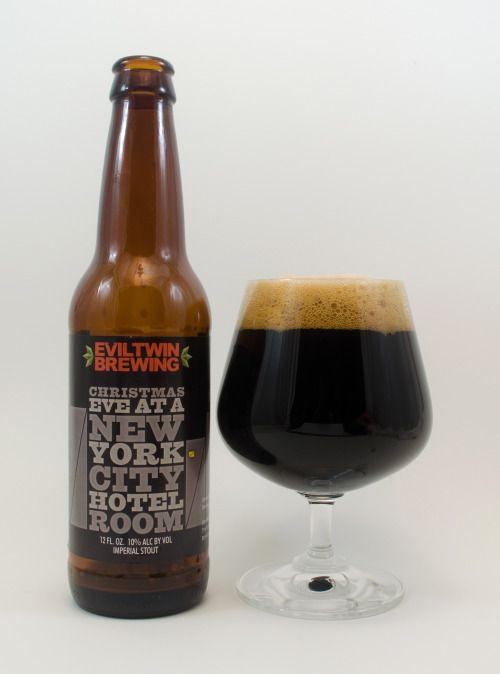 Evil Twin Christmas Eve at a New York City Hotel Room | Imperial Stout