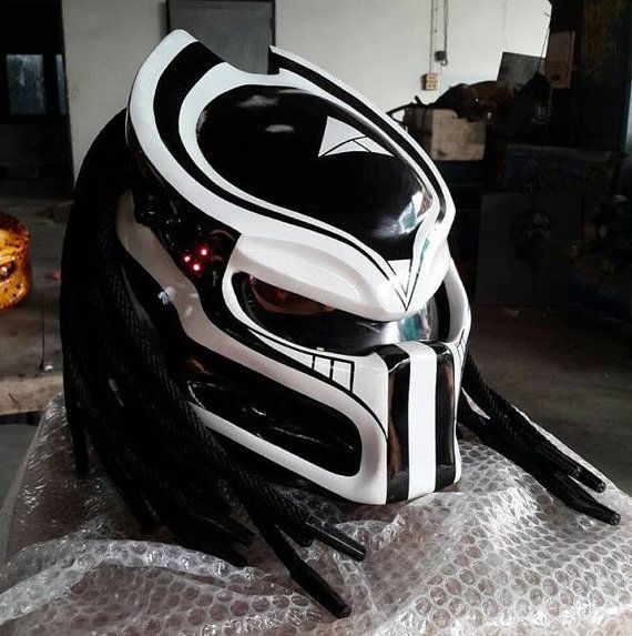 Alien Predator Helmet Motorcycle by MustafazBen on Etsy