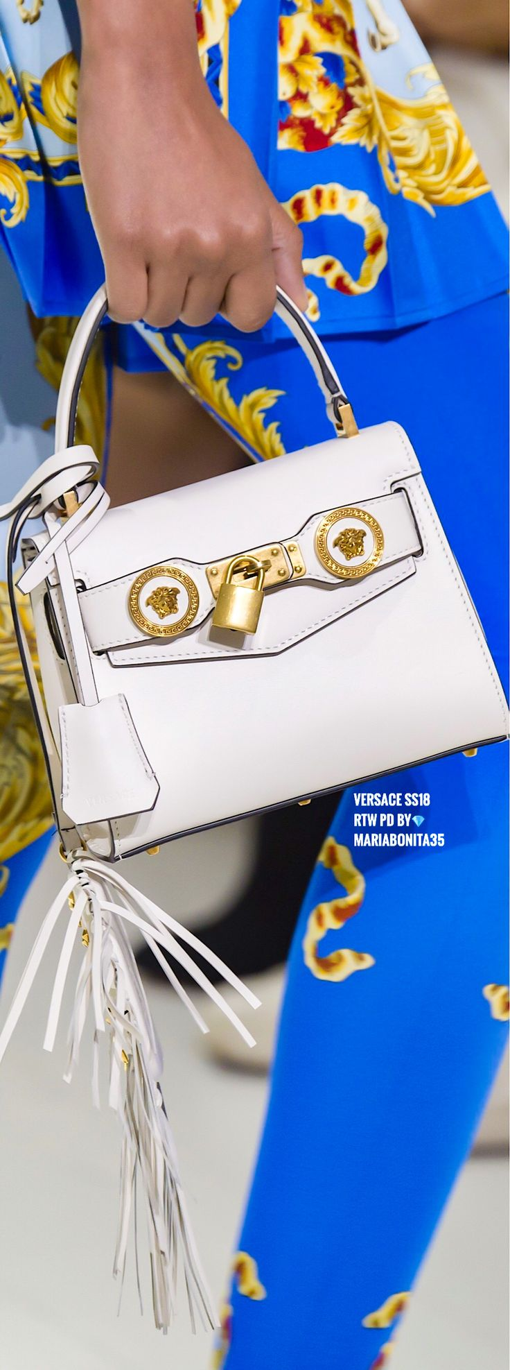 Versace SS18 RTW Details