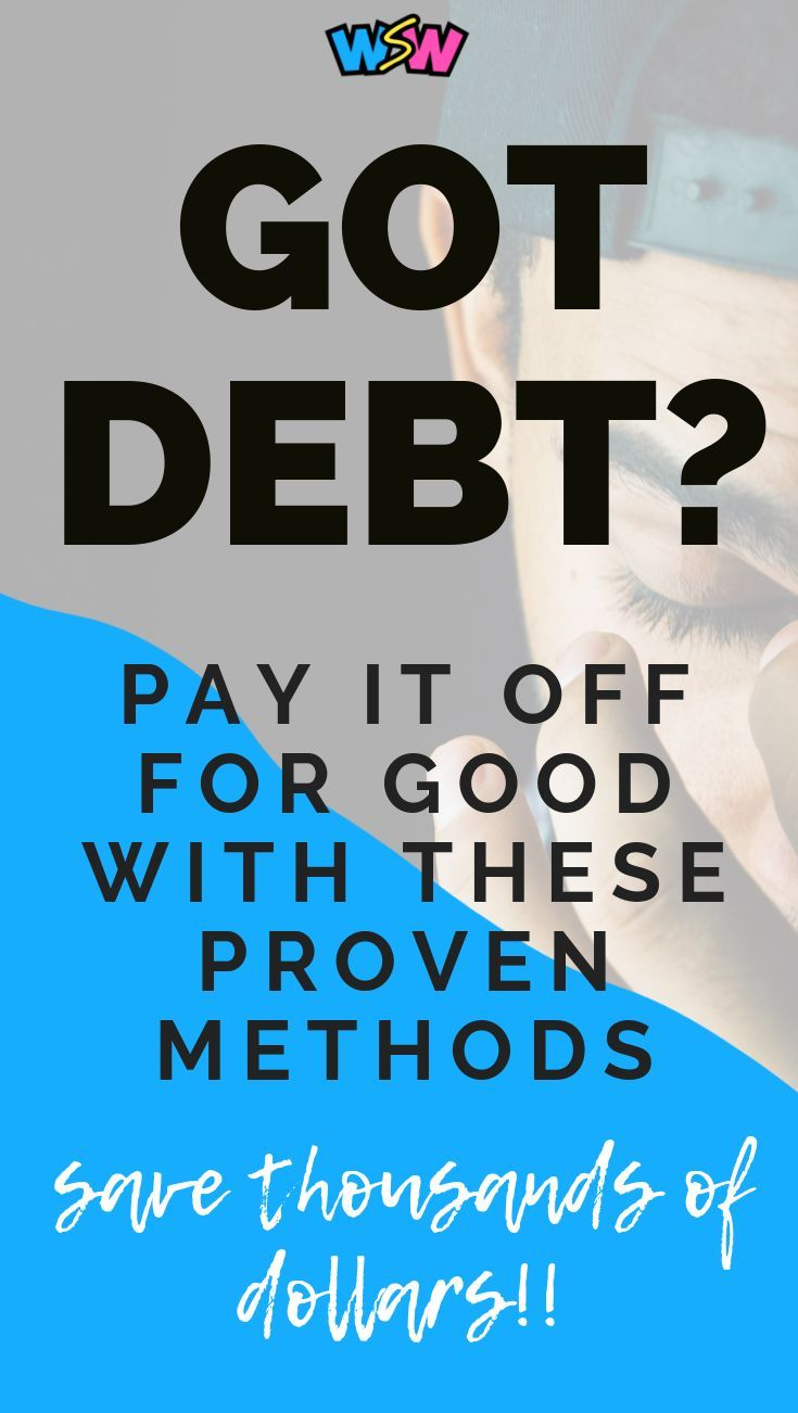 Pay Off Debt Fast Save A Ton Of Money With These Proven Methods Debt Payoff Debt Consolidation Programs Debt