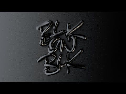 How to create typography in Cinema 4D R20 using the new Volume