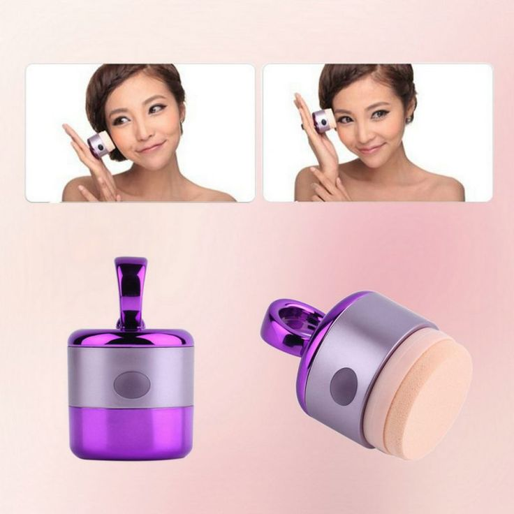 Vibrierender Makeup Applikator