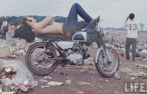 These Pictures Show How Crazy The First Woodstock Festival Really Was