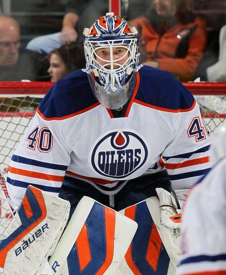 Devan Dubnyk #40 Edmonton Oilers