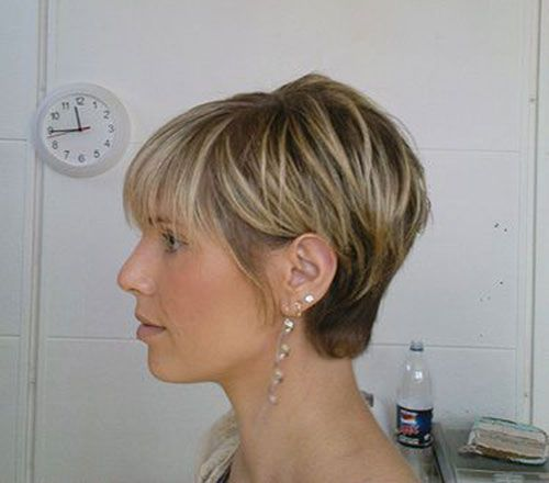 Cute Short Haircuts With Bangs Side View Hair And Beauty In 2018 Pinterest Cuts