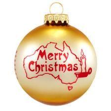 Australian Christmas Custom Ornament