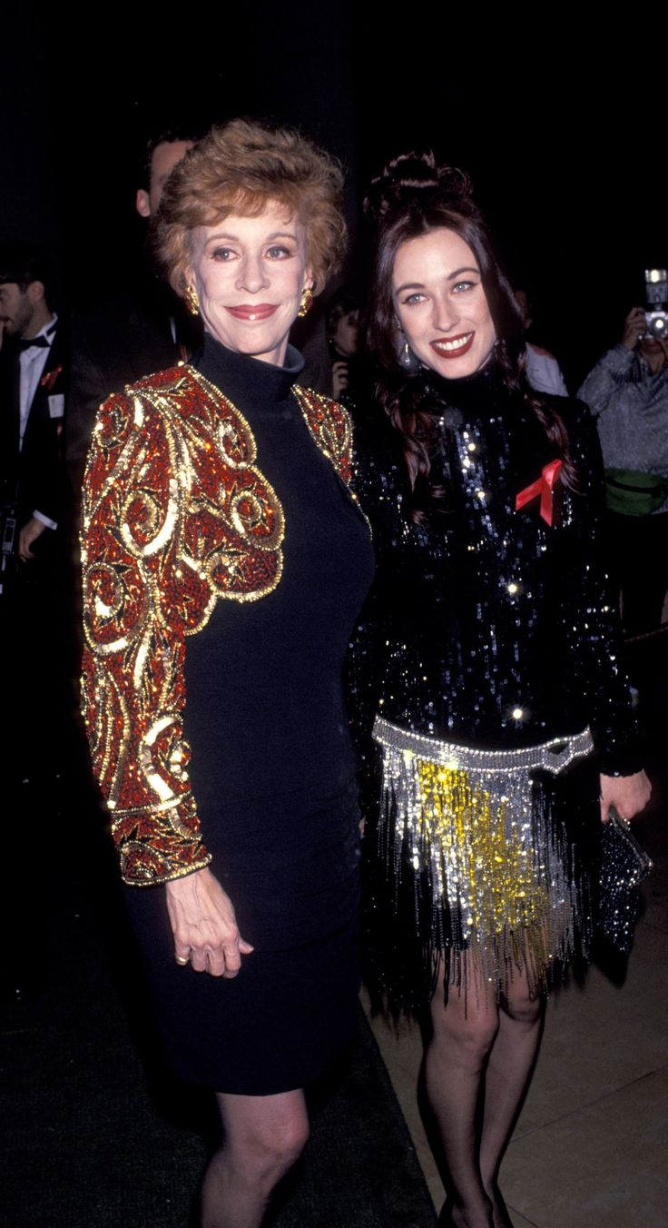 Carol Burnett and Erin Hamilton during The 50th Annual Golden Globe Awards at Beverly Hilton Hotel in Beverly Hills, California