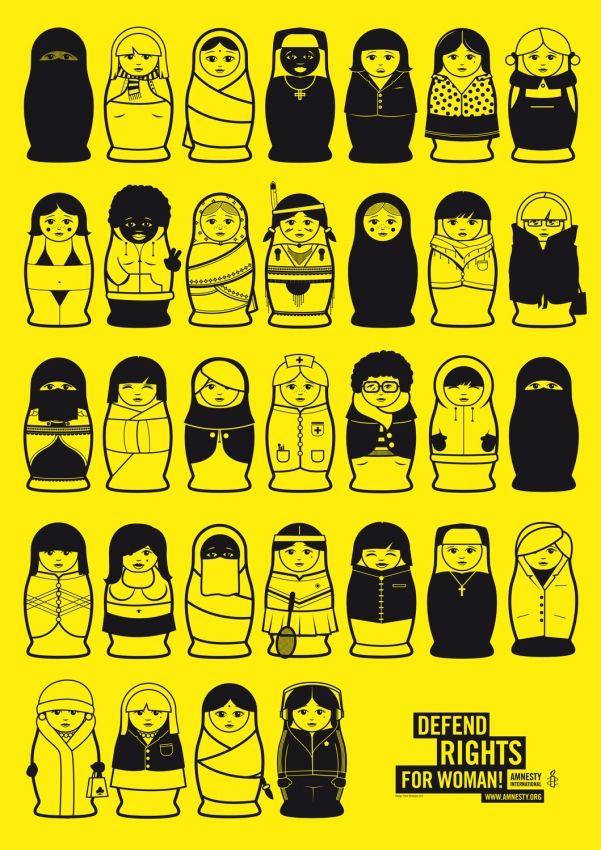 Political Illustrations for the magazine Amnesty Aktion