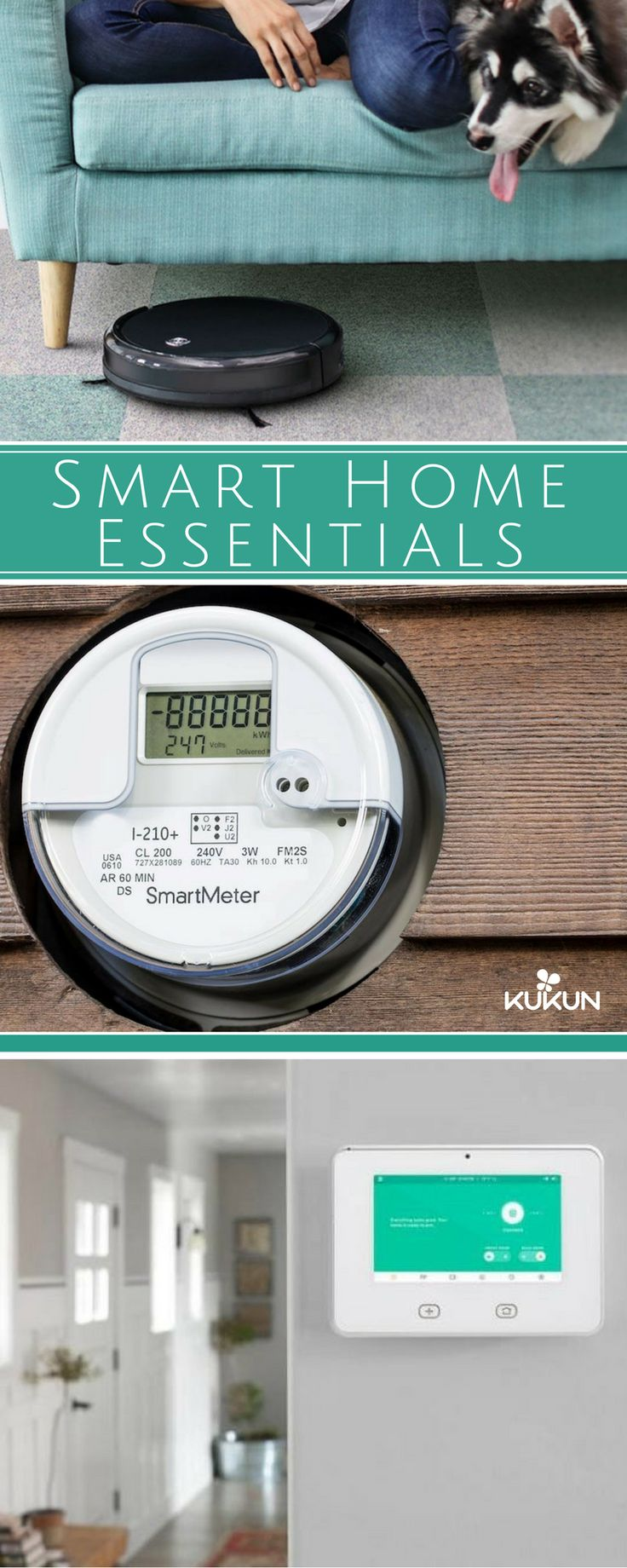Smart homes with automation technologies are becoming a trend in housing, the latest technologies offer what most people want nowadays: Convenience. Check out some of these gadgets ALL smart homes must have! [Smart Homes, Gadgets, Technology In Home, Robovac, Smart Meters, Smart Security Alarms, Robot Vacuum Cleaners, High Tech Essentials]