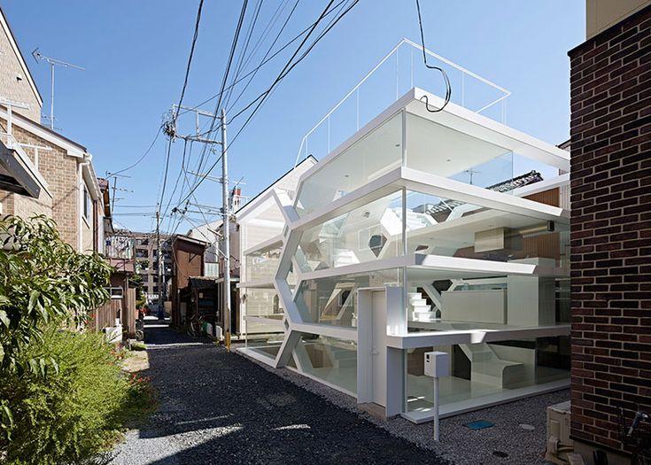 see through house japan