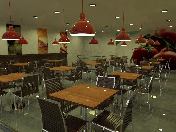 Interior restorant