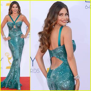 Sofia Vergara close at the Emmy's ~ Good Morning Colombia news