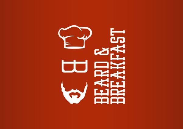Beard & Breakfast on Behance #b #logo #design #cook