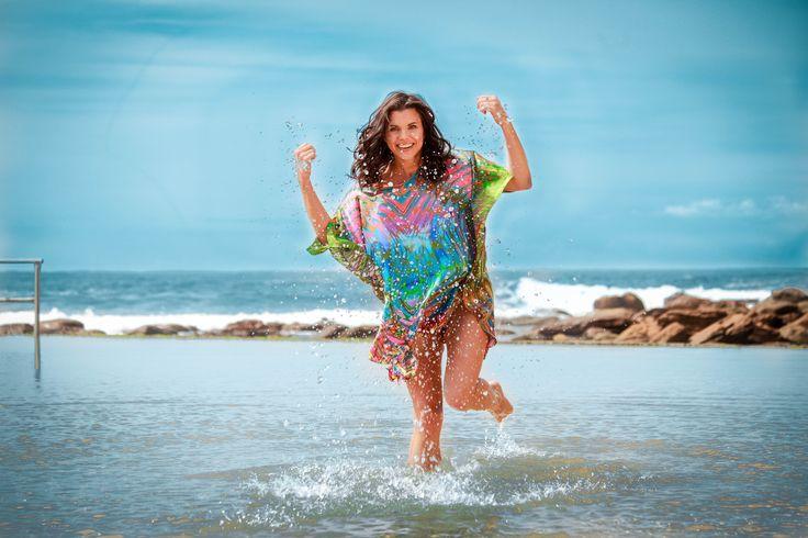 Eco Diva Great Barrier Reef Kaftan $199 ecodiva.com.au