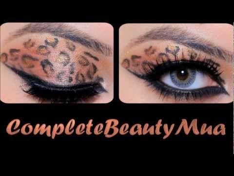 Trucco occhi e unghie stile leopardo - VideoTrucco