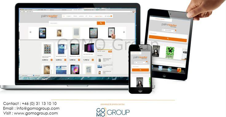 GOMO tillhandahåller tjänster inom responsive design och mobila webbplatser. Vi stödjer även digitala strategier och marknadsföring.
