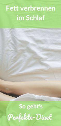 Erfahre wie du im Schlaf Fett verbrennen kannst