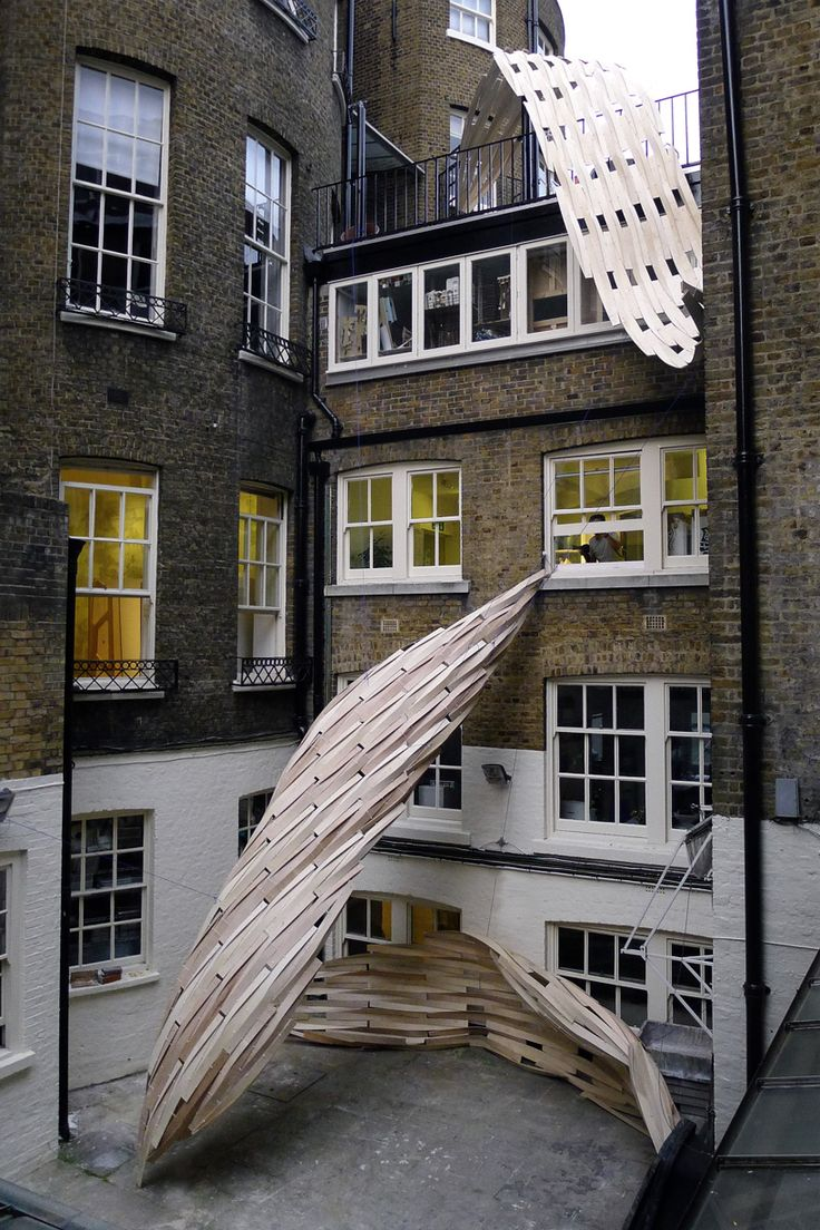 Student Installation, Architectural Association of Architecture, London // Lawrence Lek + Onur