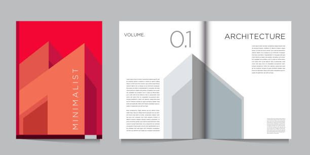 Vector Architecture And Building Brochure Design Template Minimalist Brochure Design Template Design Template Brochure Design
