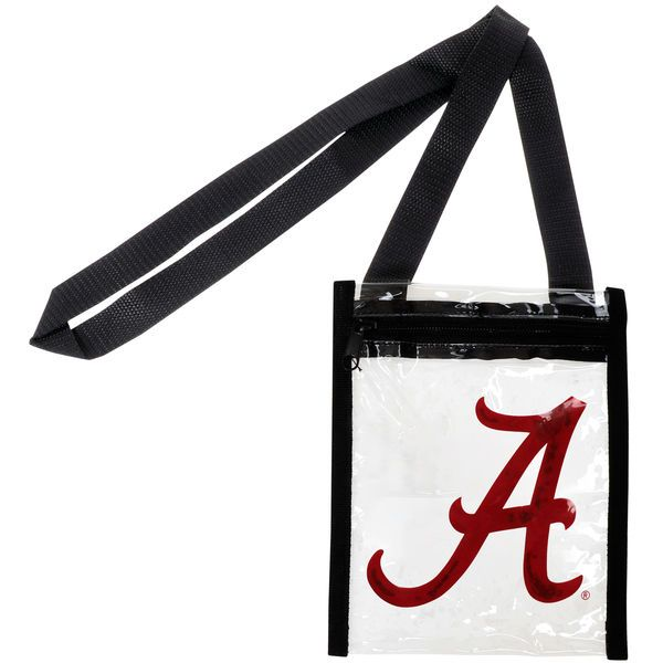 $7 JCP Women's Alabama Crimson Tide Clear Crossbody Tote Bag