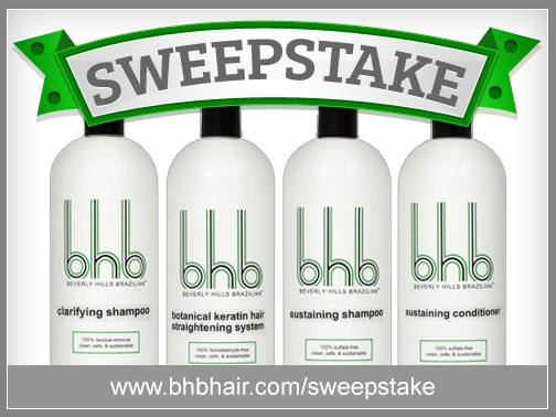 Register now to win a 32.oz salon intro package of all four product's worth $325.00 ! http://www.bhbhair.com/sweepstake/