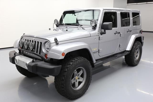 nice Great 2013 Jeep Wrangler Unlimited Sahara Sport Utility 4-Door 2013 JEEP WRANGLER UNLTD SAHARA 4X4 HARD TOP NAV 52K MI #583582 Texas Direct 2018