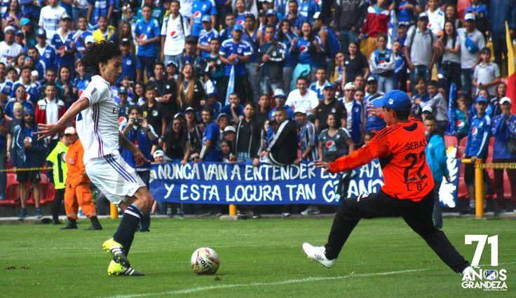 Con fútbol se celebró el cumpleaños de Millonarios en El Campín