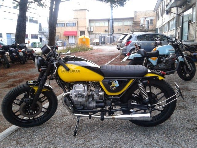 ϟ Hell Kustom ϟ: Moto Guzzi V35 By Moto Doc Classic