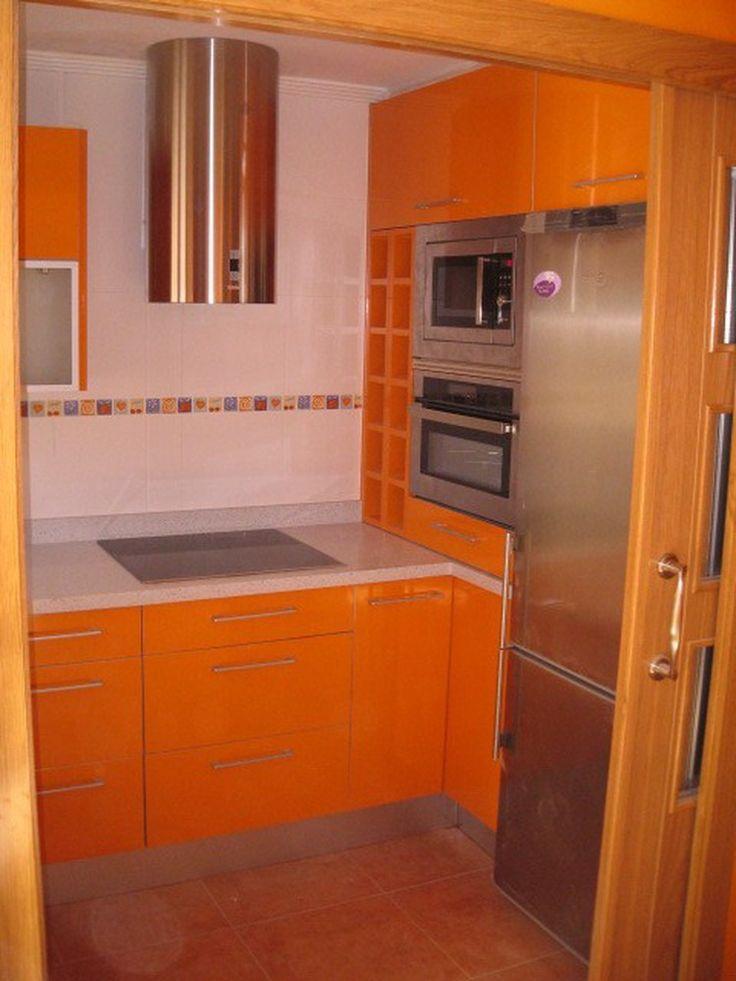 Cocinas peque as 2 reformas de interiores pinterest for Disenos de cocinas en cuba