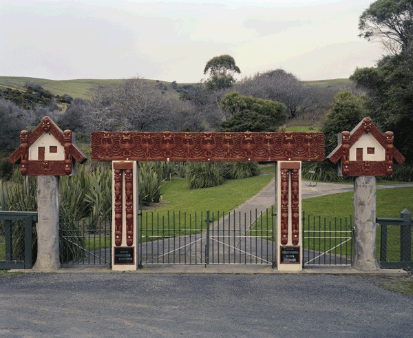 Neil Pardington Te Whare o Kāi Tahu - Centennial Memorial Gate, Otakou #1, 2010