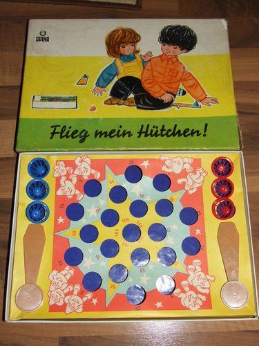 DDR original Spika Spiel Flieg mein Hütchen! in OVP Kult Familienspiel Rarität   eBay