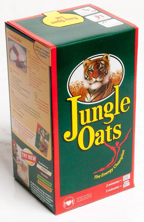 Jungle Oats - a South African product.