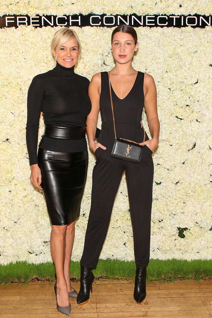Yolanda Foster and Bella Hadid