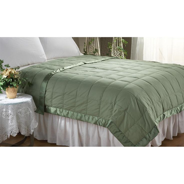 CASTLECREEK™ Microfiber Down and Feather Blanket is a warm winner, PRICEDLESS!