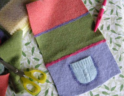 766 Best Images About Sweater Recycled Wool Projects On
