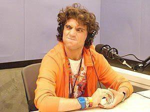 Mika funny face - J WAVE : TOKYO HOT 100 DJ : Chris Peppler in 2007