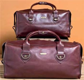 Rm Williams Leather Weekender Bag