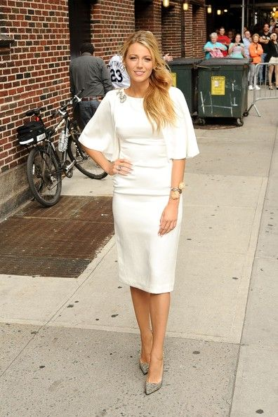 Blake Lively Photo - Blake Lively Arrives for her 'Late Show' Appearance