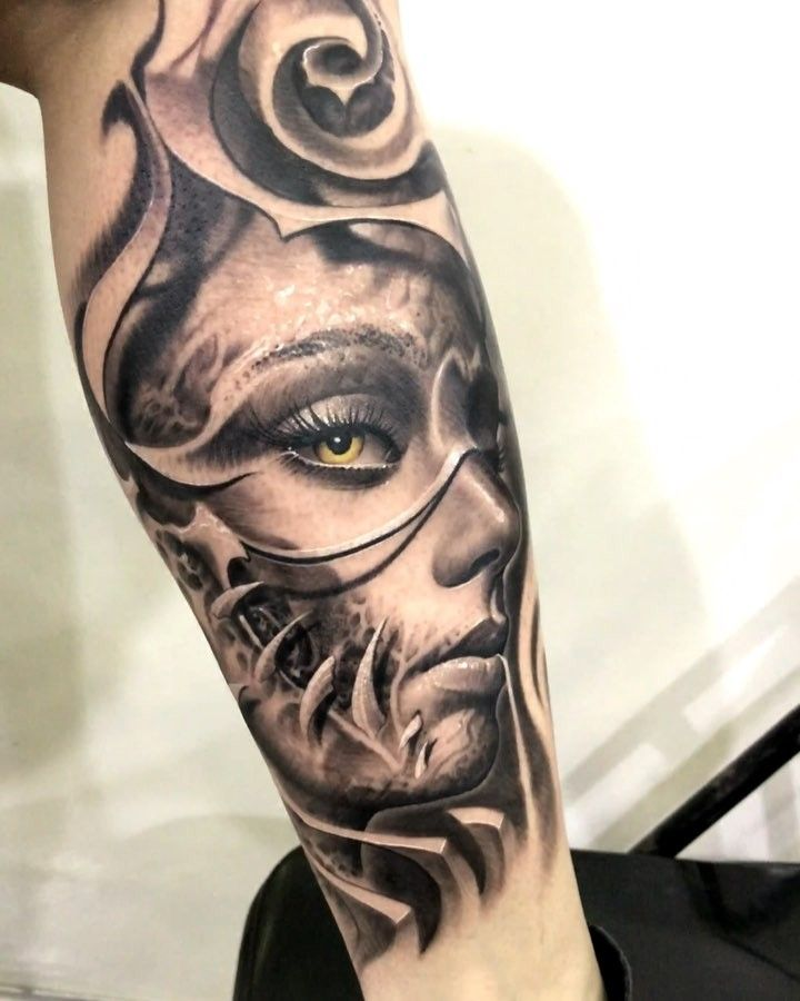 """8,463 Likes, 66 Comments - Victor Portugal Tattoos (@victorportugal) on Instagram: """"Today's tattoo at the @conve_laplata @darktimesmachines @victorportugalneedles @radiantcolorsink…"""""""