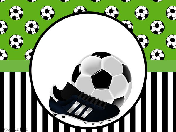 Futebol – Kit festa grátis para imprimir – Inspire sua Festa ®