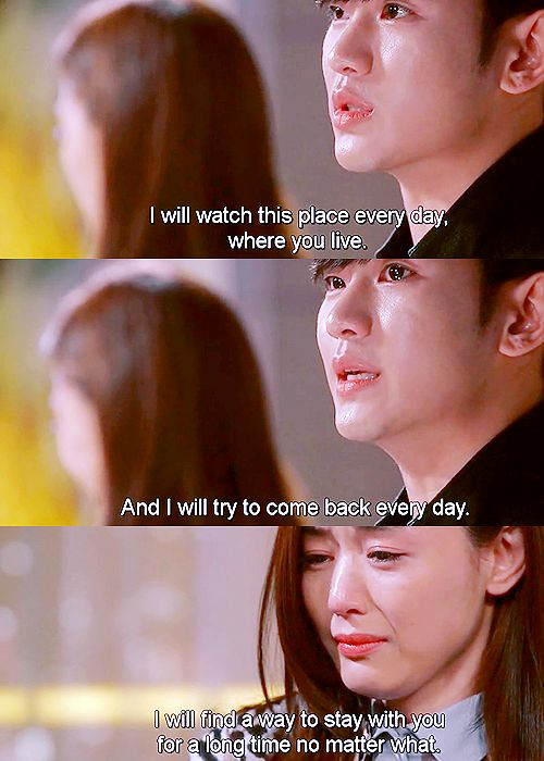 My Love From Another Star. The last episodes of this drama made cry. A must see kdrama.