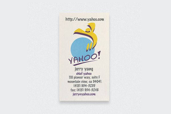 Jerry Yang Business Card