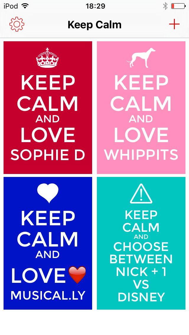 Get the keep calm creator app free