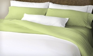 Groupon - $30 for a 6-Pc Hotel New York Microfiber Sheet Set ($79.99 List Price). 48 Options Available. Free Shipping and Returns. in Online Deal. Groupon deal price: $30.0.00