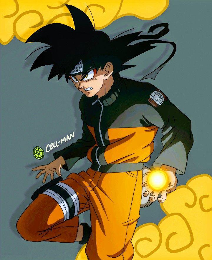 Goku Naruto Dragon Ball Super Goku E Naruto Anime E Akira