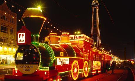 The illuminations Blackpool, Lancashire, England