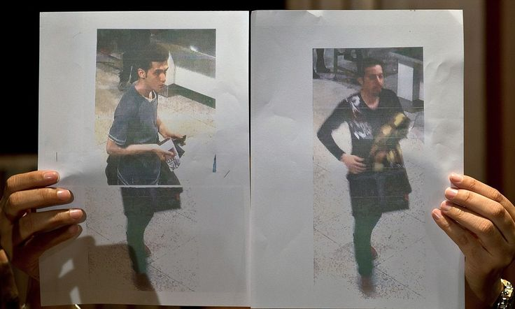 Revealed: The two mystery Iranians travelling on stolen passports